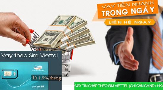 Điều kiện vay tiền bằng SIM Viettel ngân hàng VPBank