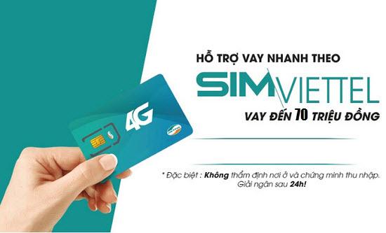 Thủ tục - hồ sơ vay tiền bằng SIM Viettel ngân hàng VP Bank